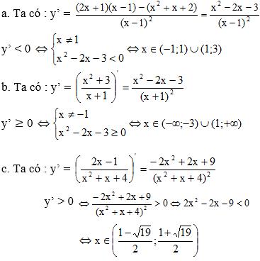 Giải Toán lớp 11 Bài 3: Đạo hàm của hàm số lượng giác