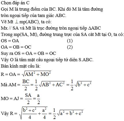 Giải Toán lớp 12 Câu hỏi trắc nghiệm chương 2 Hình học 12