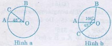 Giải Toán lớp 9 Bài 1: Góc ở tâm. Số đo cung