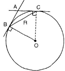Giải Toán lớp 9 Bài 4: Góc tạo bởi tia tiếp tuyến và dây cung