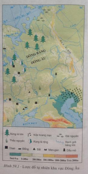 giai bai tap dia ly lop 7 bai 59 khu vuc dong au - Giải bài tập Địa lí lớp 7 Bài 59: Khu vực Đông Âu
