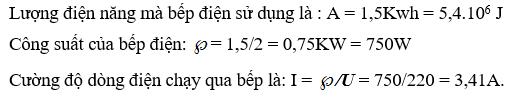 Giải lý lớp 9 Bài 13: Điện năng - Công của dòng điện