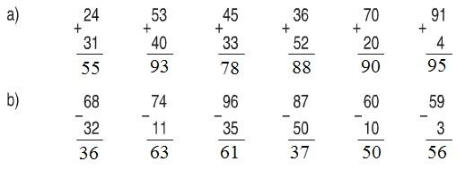 Giải Toán lớp 1 bài Ôn tập : các số đến 100 trang 174