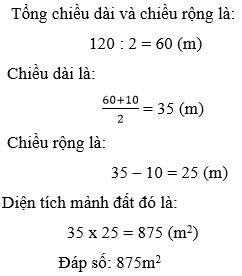 Giải Toán lớp 5 Một số dạng bài toán đã học