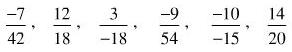 Giải Toán lớp 6 Bài 4: Rút gọn phân số