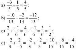 Giải Toán lớp 6 Bài 8: Tính chất cơ bản của phép cộng phân số